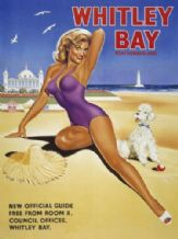 Whitley Bay. Metal Wall Sign (2 sizes)